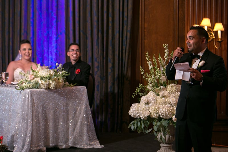 best man giving speech