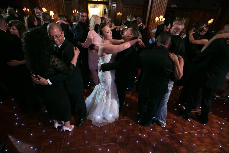 cleveland union club wedding reception