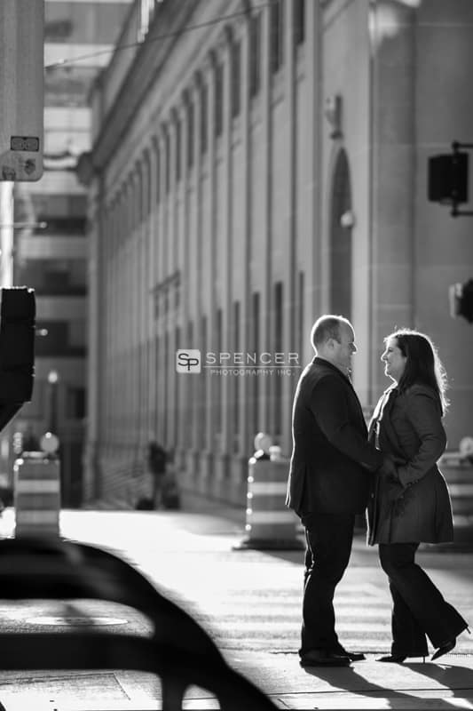 couple during photo session in chicago