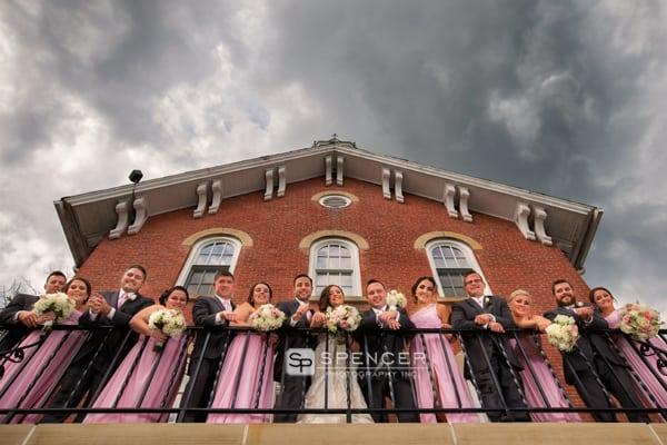 wedding party in brecksville