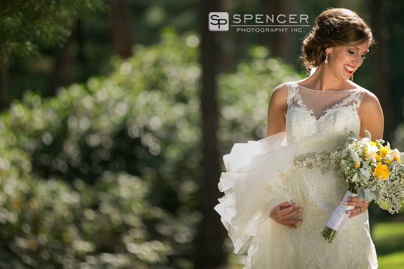 bridal portrait in sandusky