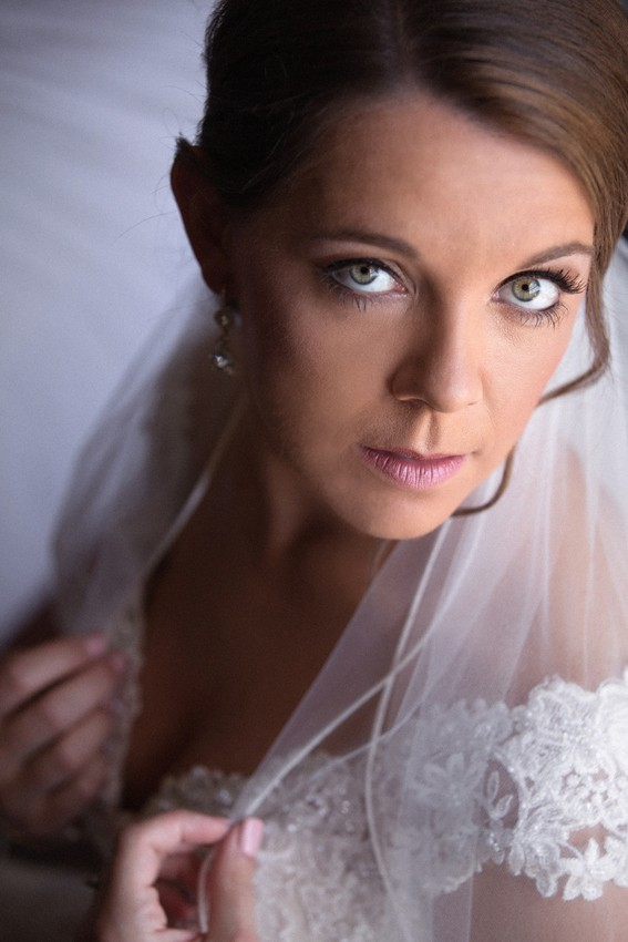 bride picture at tudor arms
