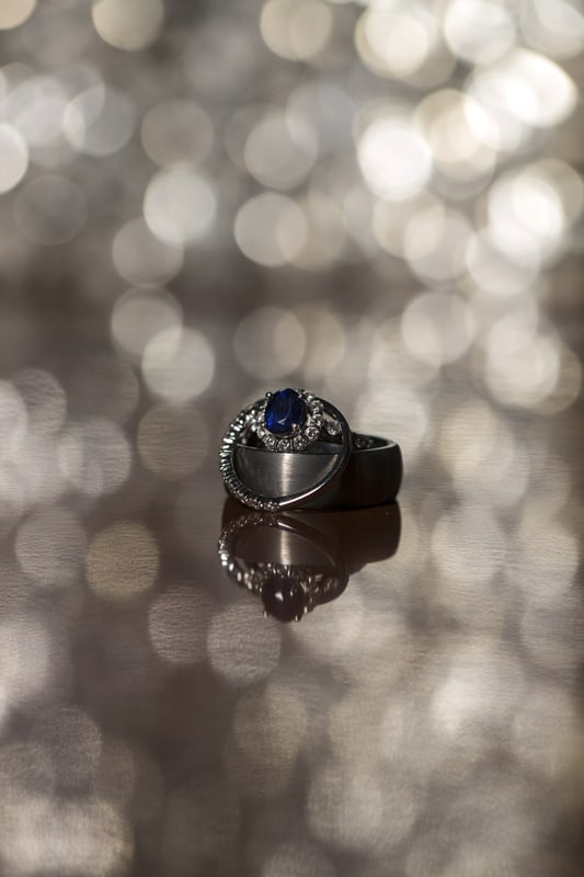 wedding ring at ballroom at park lane