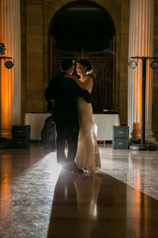 first dance at old courthouse in cleveland