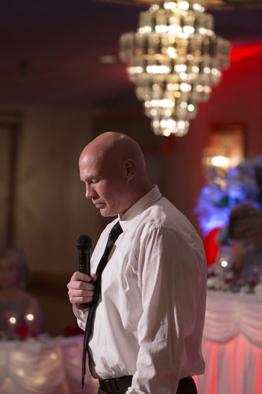 wedding reception prayer