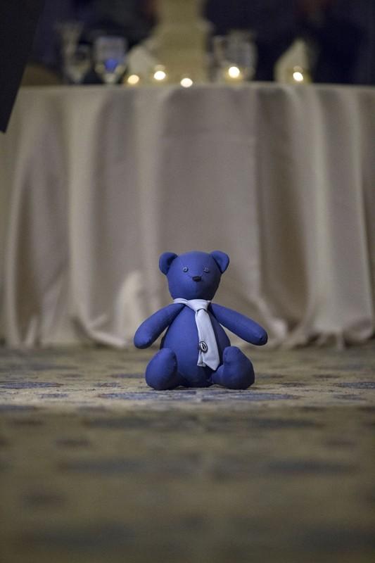 teddy bear at union club reception