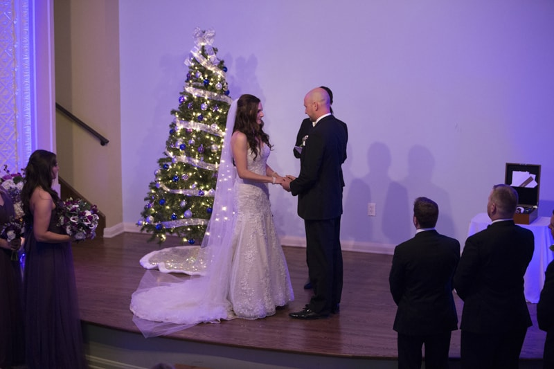 wedding ceremony at ballroom at park lane