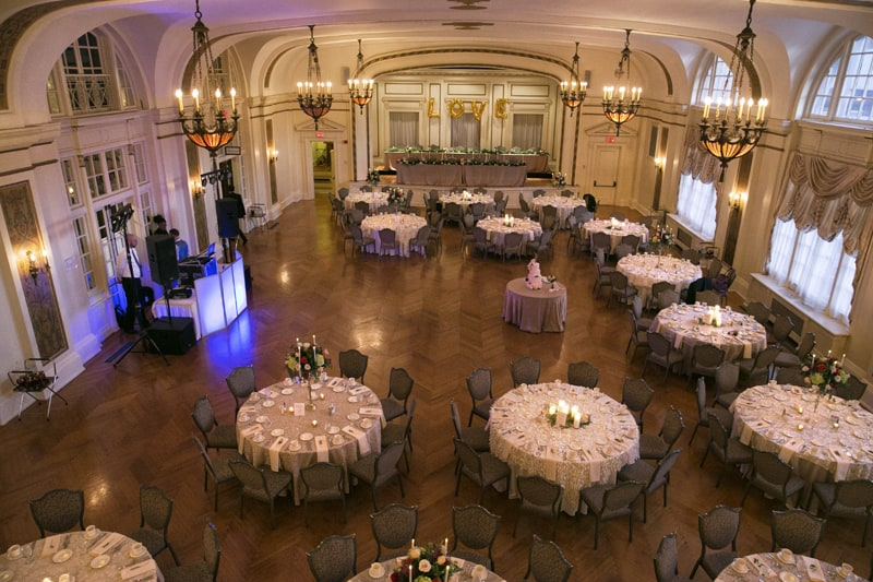 greystone hall wedding reception layout