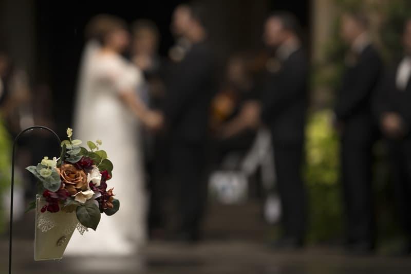 stan hywet wedding detail