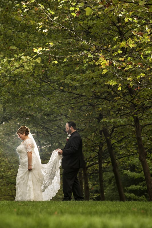 stan hywet wedding picture