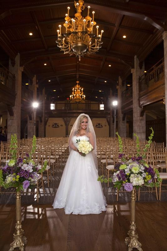 bride portrait at tudor arms wedding ceremony