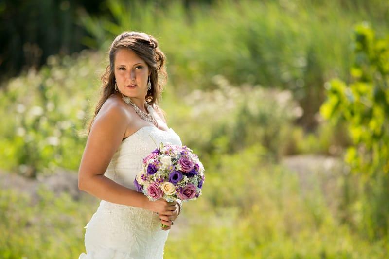 columbia ballroom bridal portrait