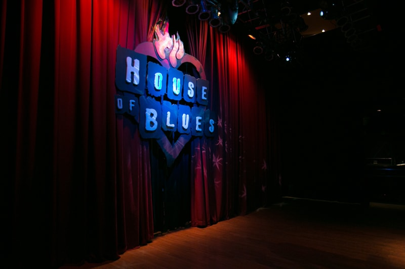 stage at house of blues cleveland