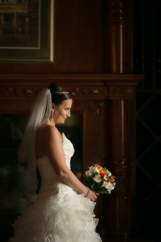 wedding day picture at akron tangier