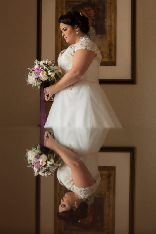 wedding picture at hyatt regency