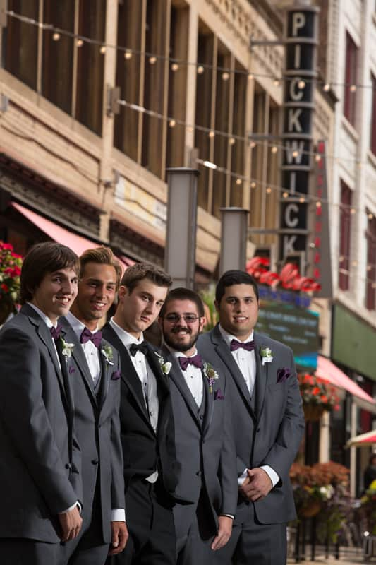 groomsmen at cleveland east fourth street