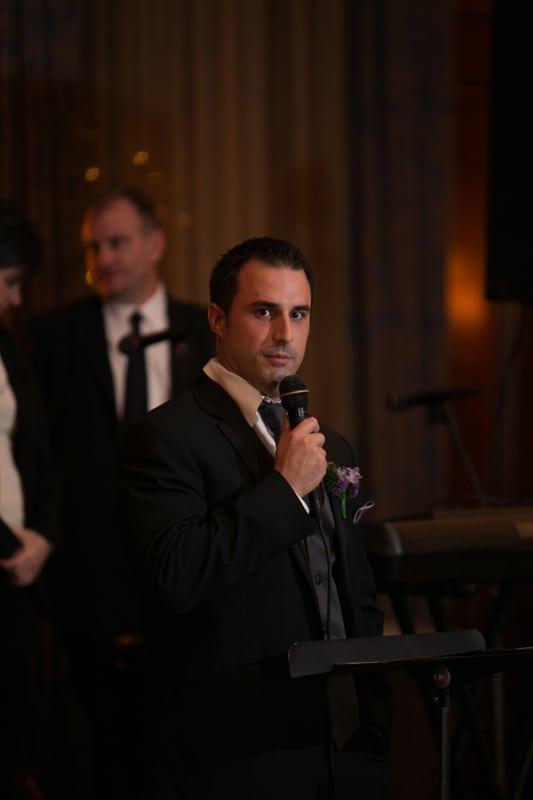 best man giving speech