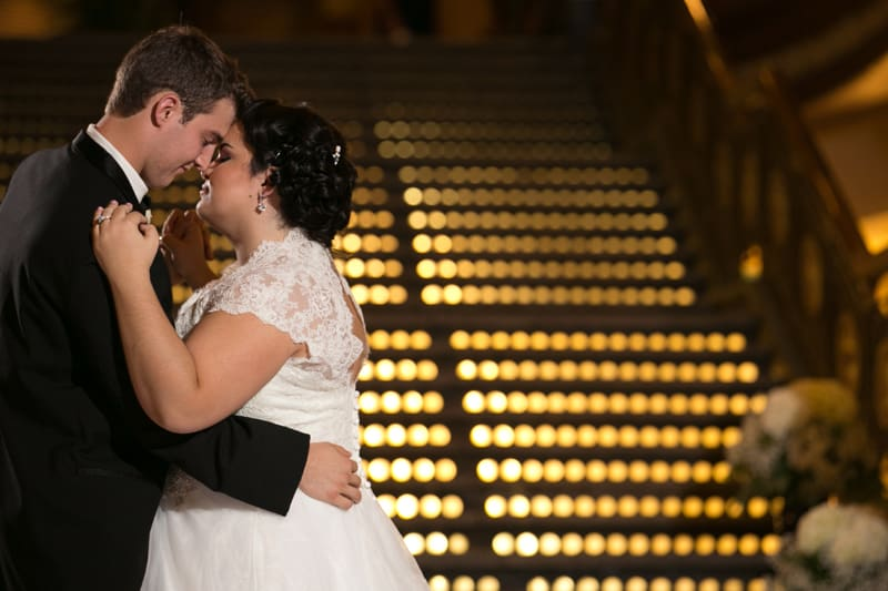 cleveland arcade wedding reception first dance