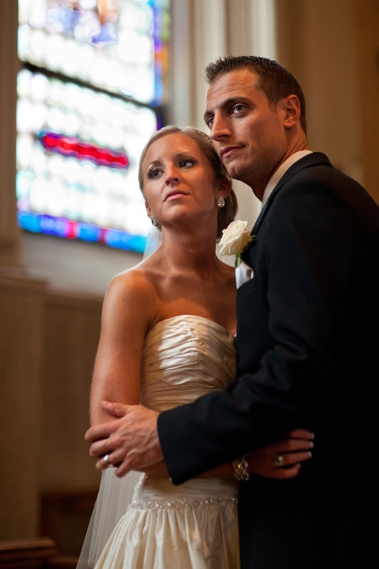 wedding picture in st vincent church