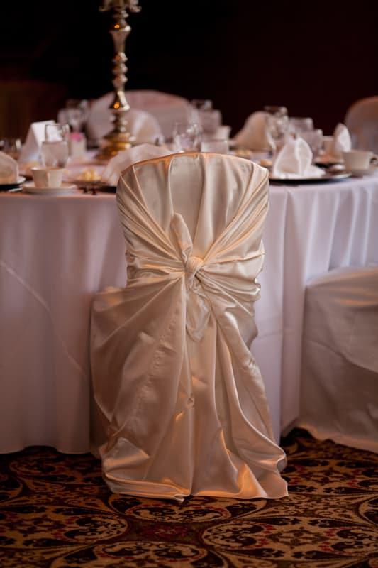 reception chair detail