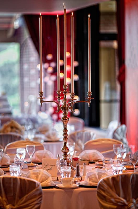 wedding reception at firestone country club