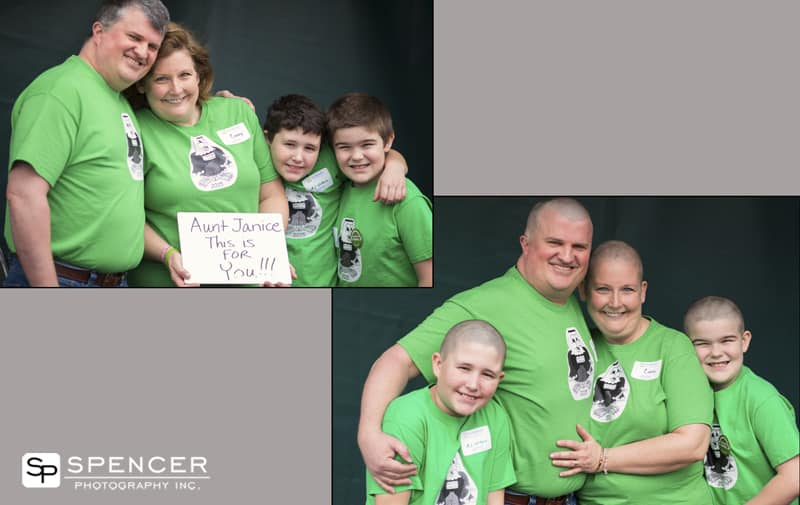 pictures of participants of st baldricks foundation fundraiser