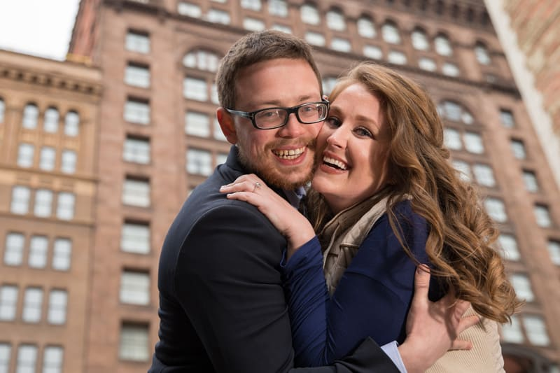 laughing couple picture in cleveland