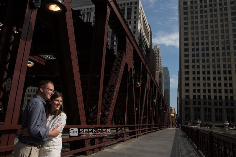 picture on chicago bridge