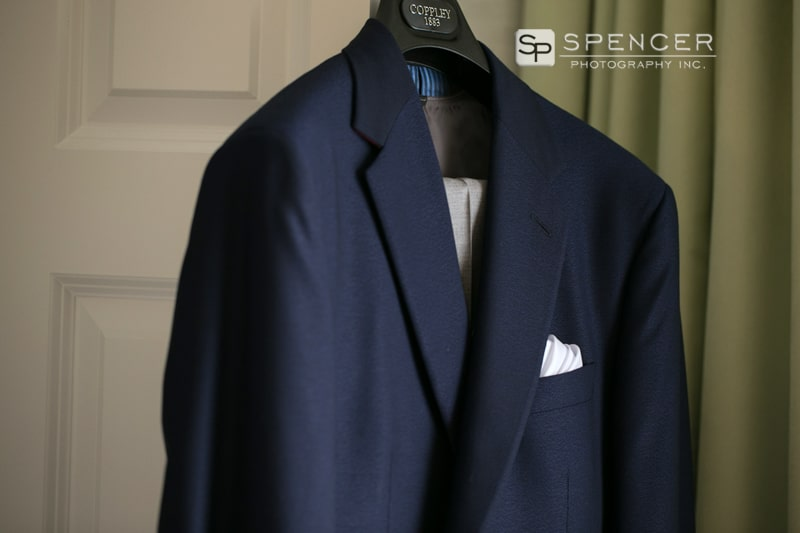 grooms wedding suit at springhill suites