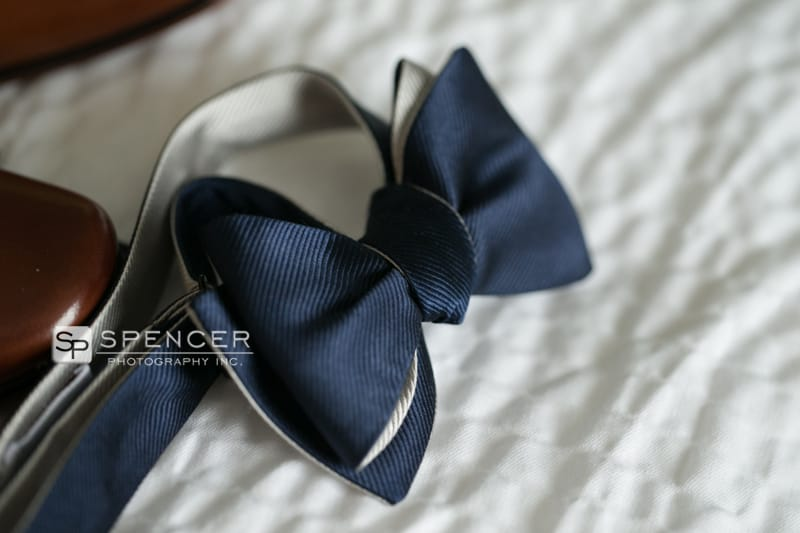 groom bowtie at springhill suites