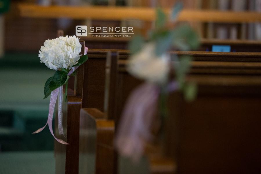 wedding aisle centerpiece