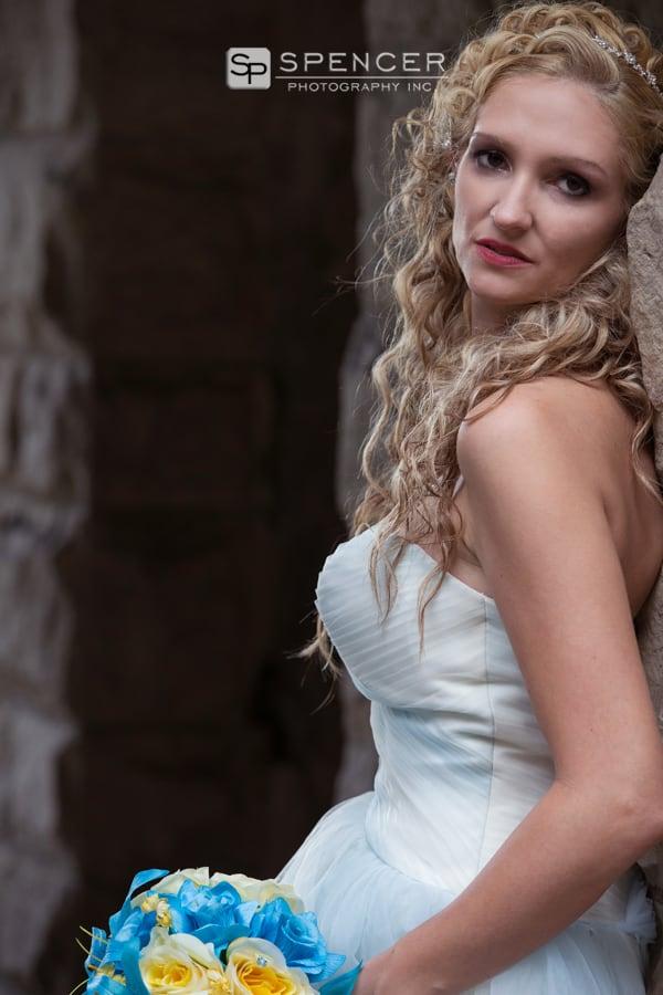 bride picture at squires castle