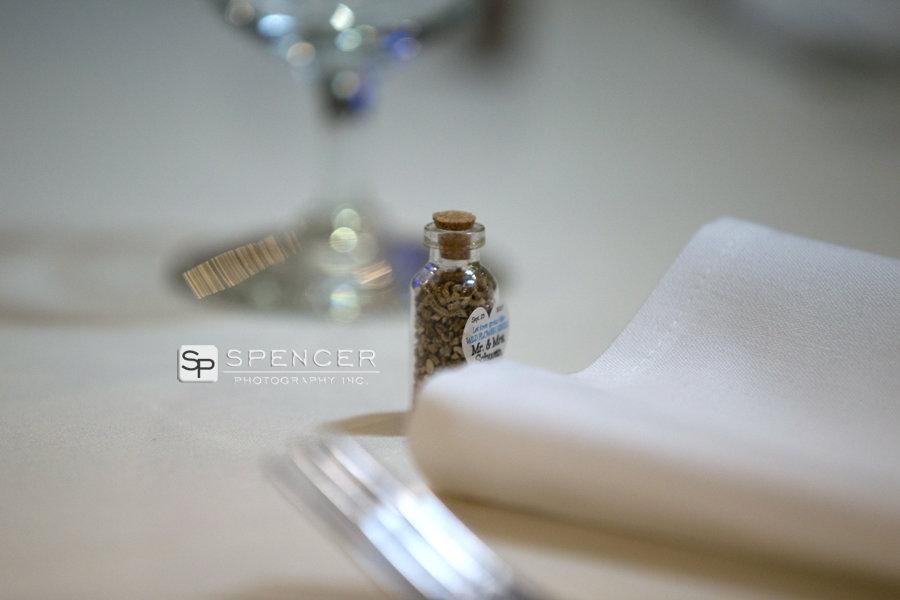 wedding reception favor at donauschwabens
