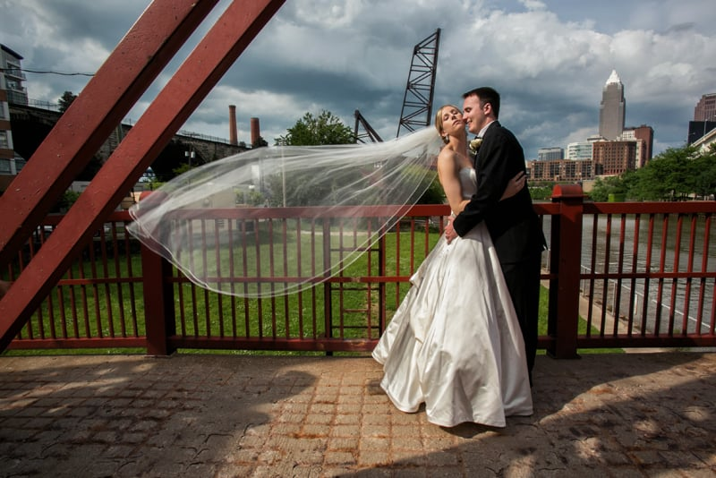 wedding picture in cleveland