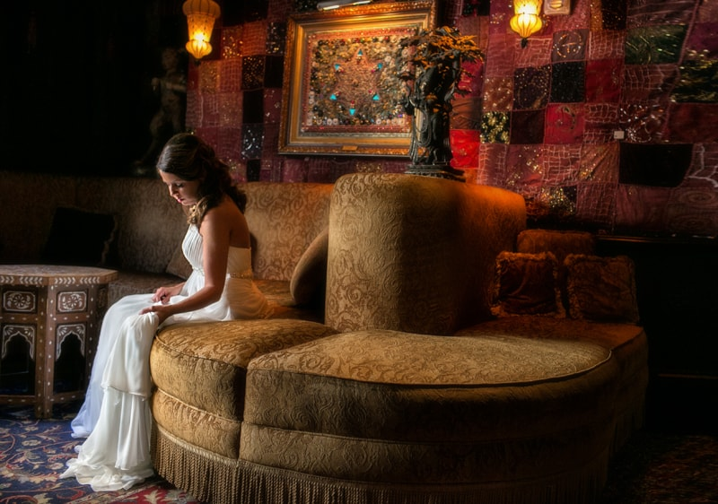picture of bride at house of blues