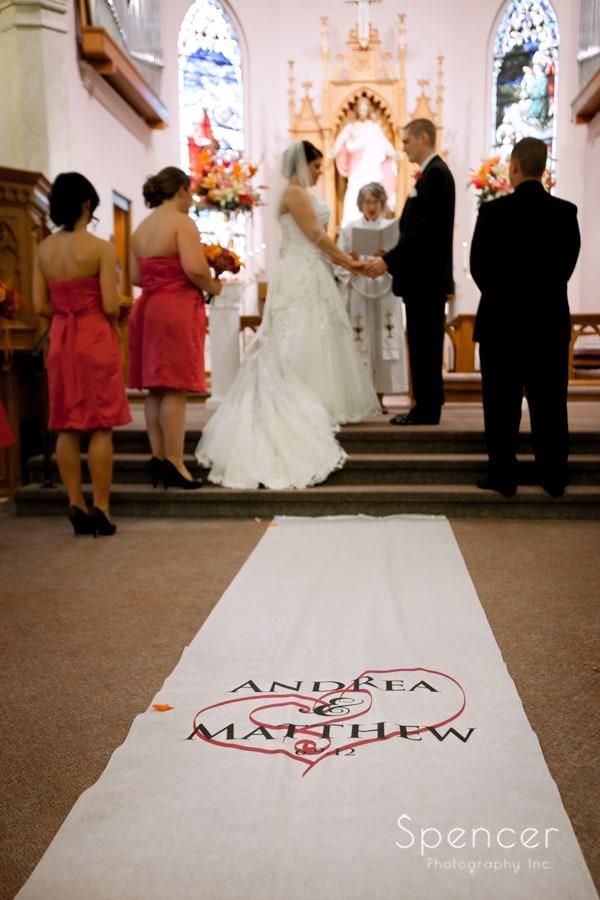 wedding day in Canton Ohio