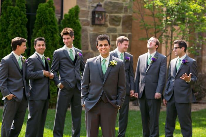 picture of groomsmen at Gervasi Vineyard