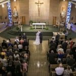 Wedding Ceremony at Holy Family Church // Cleveland Wedding Photographers