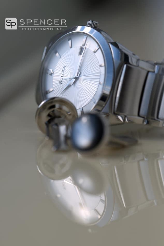 groom watch and cuff links
