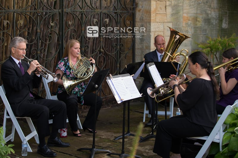 cleveland orchestra at wedding ceremony