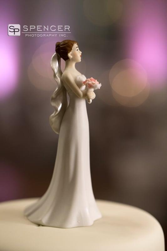 bride wedding cake topper
