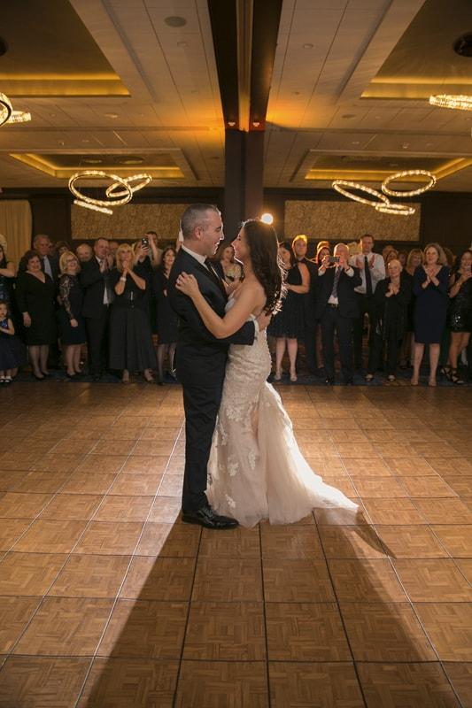 first dance at westin wedding reception