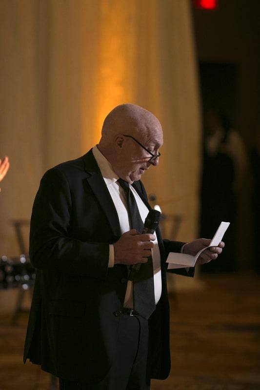 father of groom reception speech