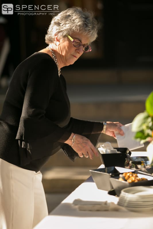 pistone catering at wedding reception