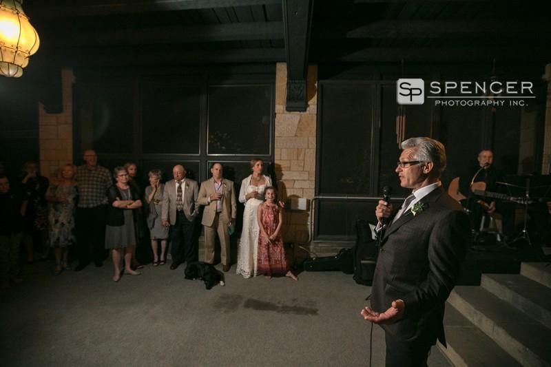 wedding reception speech shaker heights