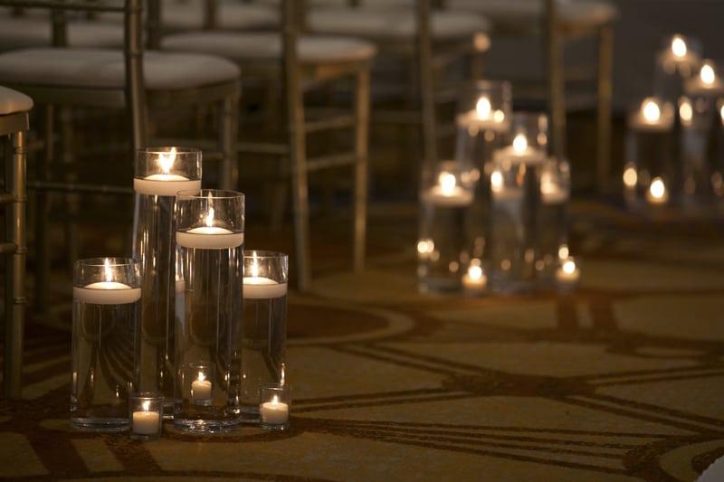 aisle at wedding ceremony at westin