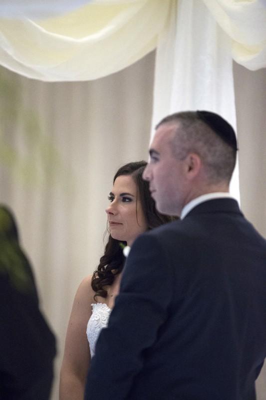 wedding ceremony at cleveland westin