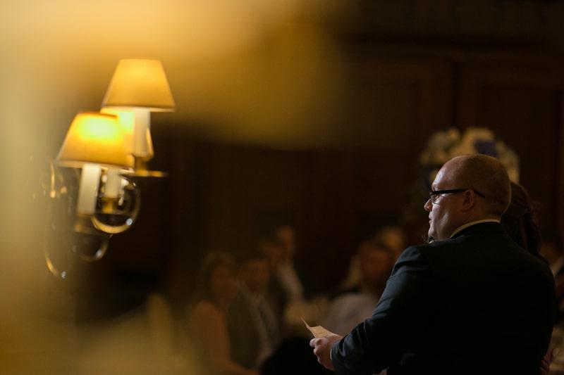 wedding reception at union club