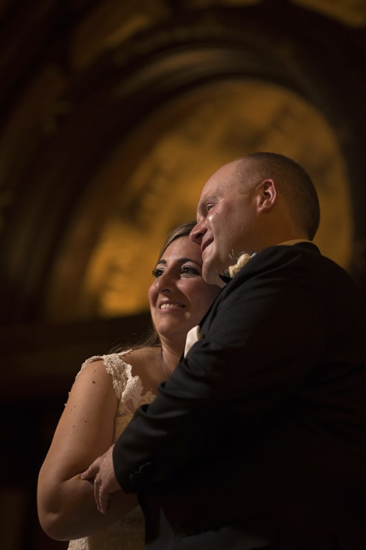 wedding picture at Cleveland Union Club