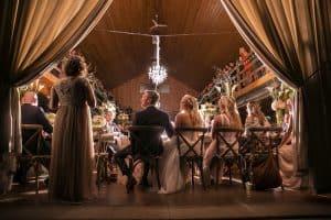 Lindsey and Craig's Wedding Reception in Copley